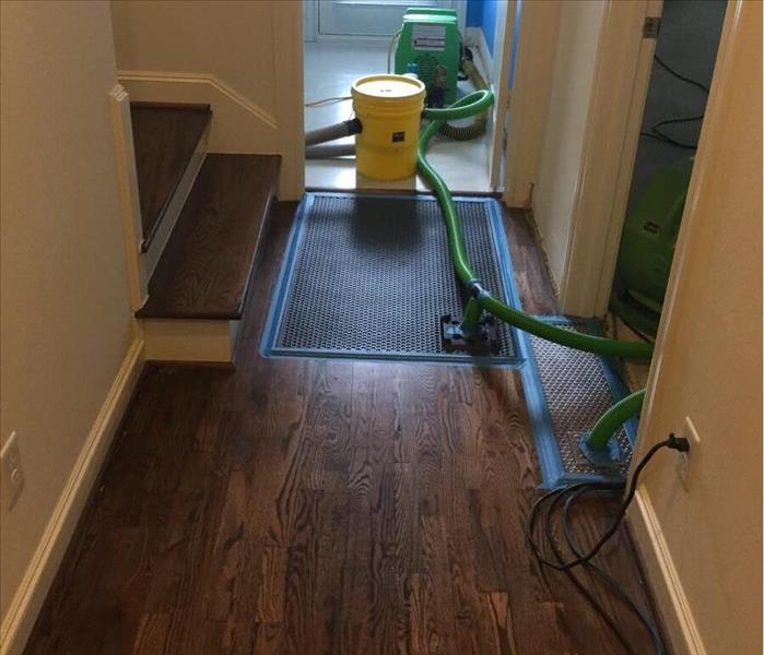 Water Damaged Wood Floor in Houston, TX After